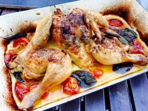 Huhn mit Salbei