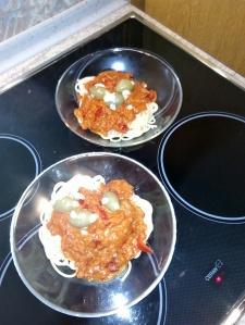 Spaghetti mi Paprika