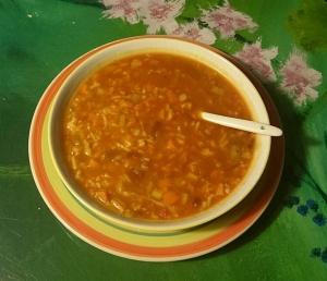 Vegane Suppe nach Pekingart